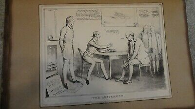 C1830'S Political Sketches. H.b. John Doyle ; The Abatement'