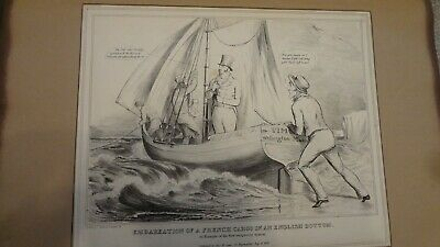 C1830'S Political Sketches. H.b. John Doyle 'French Cargo.