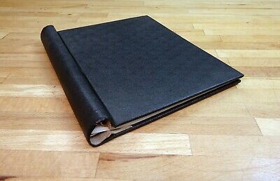 The Selby Springback Stamp Album, Black + 40 pages.