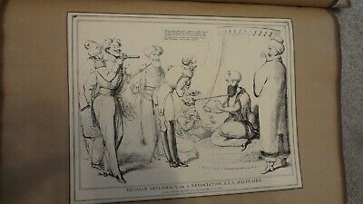 C1830'S Political Sketches. H.b. John Doyle 'Russian Diplomacy