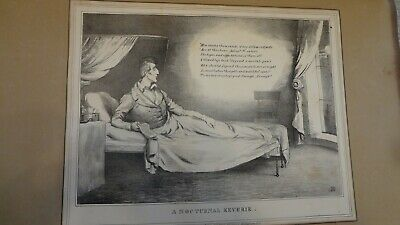 C1830'S Political Sketches. H.b. John Doyle Nocturnal Reverie'