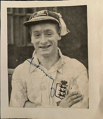 Signed 1950s Tom Finney Preston North End FC Football Autograph Book England
