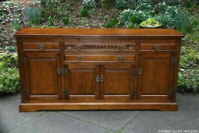 Old Charm Light Oak Cabinet Sideboard Dresser Base Cupboard Hall Table Tv Stand