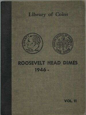 48 SILVER ROOSEVELT DIMES IN ALBUM ~ 1946-1964 ~ ALL ARE XF to BU ~ 1c START