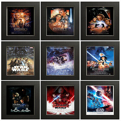 Star Wars All episodes Vintage Retro Posters Home Prints Art Decor A4 A3 A2 HD