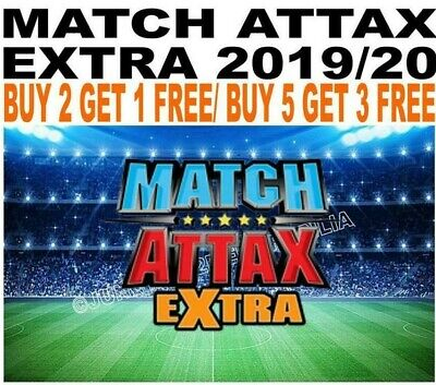 Match Attax Extra 2019/20 19/20 Limited Edition & 100 Clubs
