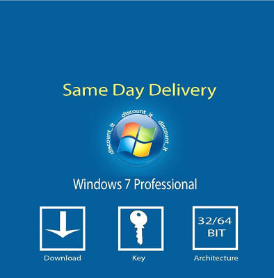 Windows 7 Pro 32/64-bit Product Key Win 7 Pro Licence