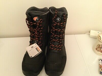 V12 Defiant Igs Mens Combat Safety Boots Composite Toe Cap /& Midsole S3 Side Zip