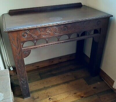 Victorian Carved Mahogany Sideboard (see details)