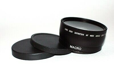 0.45X High Definition AF Wide Angle Lens w Macro - 58mm Mount Thread for Nikon
