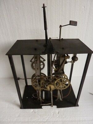 Antique Movement Naked Comtoise Clock Period 19th