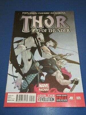 Thor God of Thunder #5 Gorr God Butcher NM Gem Wow
