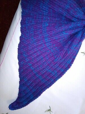 Baby Mermaid Knitted Blanket Ideal For Photo Shoot