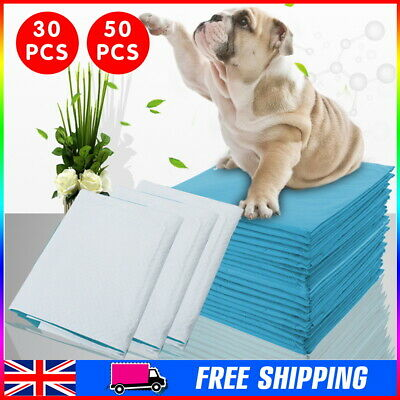 30X Dog Puppy Extra Large Training Pads Pad Wee Wee Floor Toilet Mats 60 x 45cm