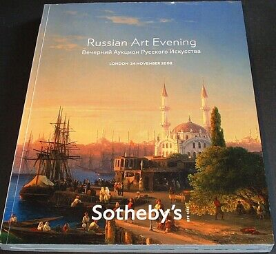 RUSSIAN ART - PAINTINGS: Sotheby's g. Wälzer London 08 +results