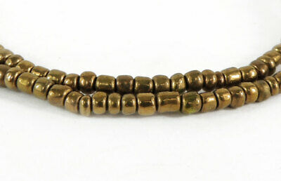 Vintage Seed Trade Beads Gold Colored Africa