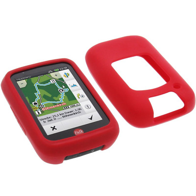 Case for Falk Tiger Geo protective bag silicone pocket red