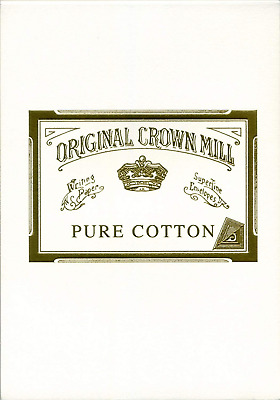 Original Crown Mill 40125 A5 Pure Cotton Pad