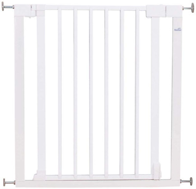 Geuther - Vario Safety Gate, White Lamelle