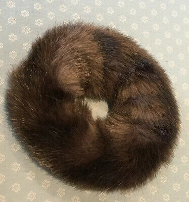 Fun-fur Hair Donut 'Fasinator' Winter,Sking-fun  Very Rich Mink Looking-from USA