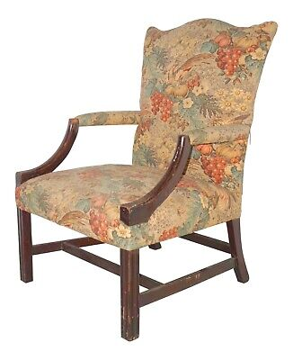 Late 18th Century Chippendale Period Lolling Chair New-England