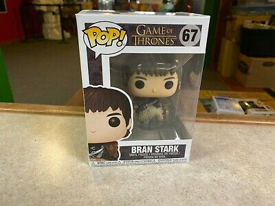 Funko POP! Vinyl Figure NIP Game of Thrones BRAN STARK #67