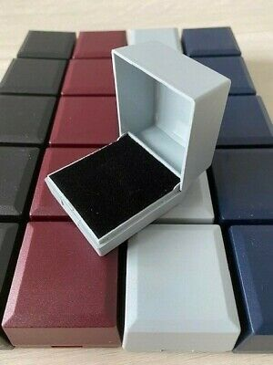 Wholesale Joblot 20 Mixed  Ring Boxes Jewellery Gift Boxes Hinged Packaging
