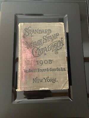 1905 Vintage United States Stamp & Catalogue Specialized SCOTT Catalog book