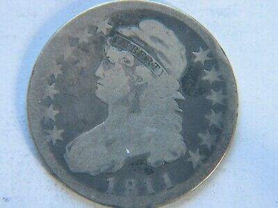 1811 Capped Bust Half Dollar Better Date
