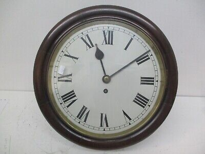 Antique Victorian Wall Clock. Great Condition With Key. Very Large.