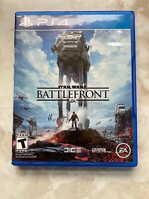 Star Wars: Battlefront PS4 Game ~~ All is MINT~~