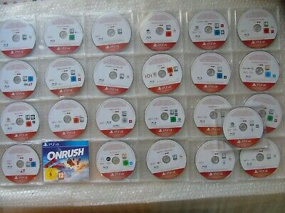 LOT of 25 PS4 Promo Games PlayStation 4 Promotional, God of War, Call of Duty,AC