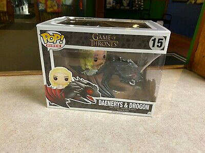 Funko POP! Deluxe Rides Game of Thrones DAENERYS & DROGON #15