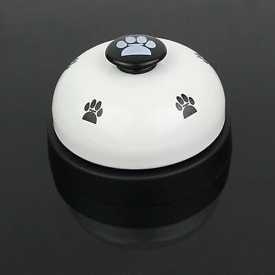 Metal  Dog Training Bell with Footprints Pattern for Potty Training