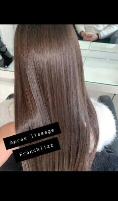 Lissage bresilien French Lizz Sans Formol Liss A 💯% 100ml