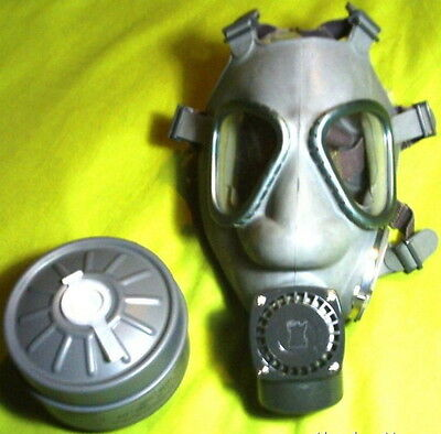 New Finnish M61 Gas Mask w/ NOKIA Amplifier & 60mm Filter 3rd GENERATION