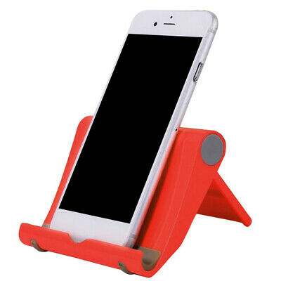 "Micro Mini Cell Phone Smartphone Display Stand Holder Cradle /""Mean Smile/"" Blue"