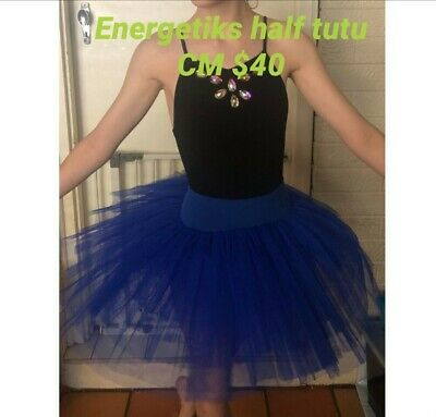 Energetiks, dance, Half Tutu, Royal Blue, Child M