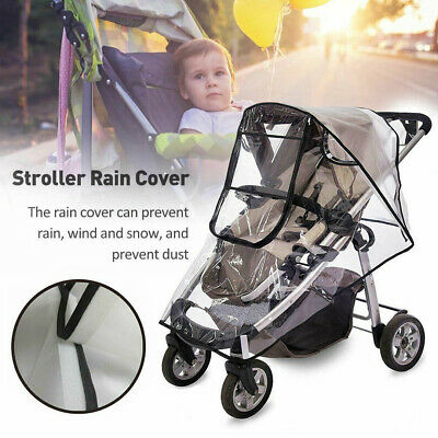 Universal Buggy Rain Cover Baby Pushchair Stroller Raincover Waterproof Cover
