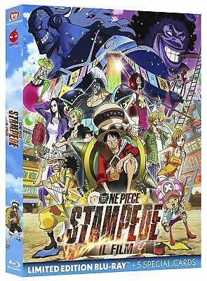 One Piece. Stampede - Il Film (2020) S. E. Blu Ray + 5 Cards