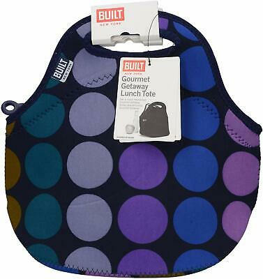 Built NY Gourmet Getaway Neoprene Insulated Reusable Durable Lunch Bag Tote ASST