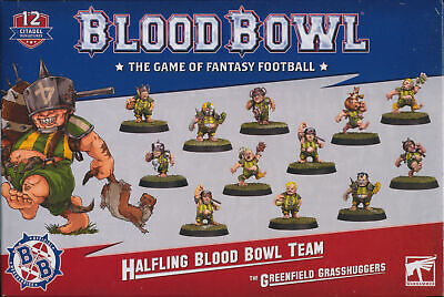 Blood Bowl The Greenfield Grasshuggers Singles