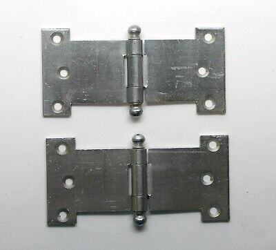 Pair of Steel Parliament Cabinet Hinges