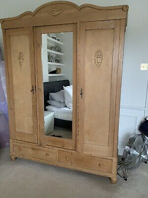 Large Breakdown Pine Wardrobe