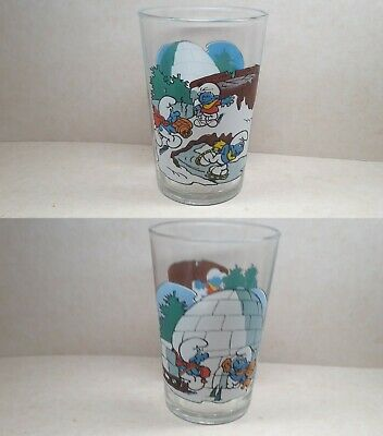 Benedictin - 1989 - Glass The Smurfs In The Winter