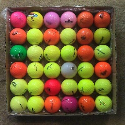 36 Mixed Make COLOURED balls - all in superb A1++ condition.