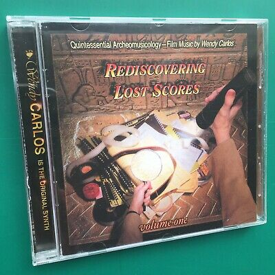Rare REDISCOVERING LOST SCORES Soundtracks OST CD Wendy Carlos Shining Clockwork