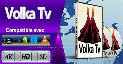 Code De Recharge IP TV Abonnement VLC/ Android /Smart TV M3U
