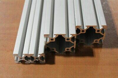 8020 Inc Mixed Aluminum Extrusion 25 Series 25-2525 25-5050 SC Lot 61 (4pc)