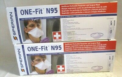 Sperian N95 Particulate Respirator Masks Medical Surgical NIOSH APPROVED 40pcs